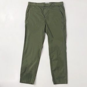 Everlane Green Tapered Crop Pants